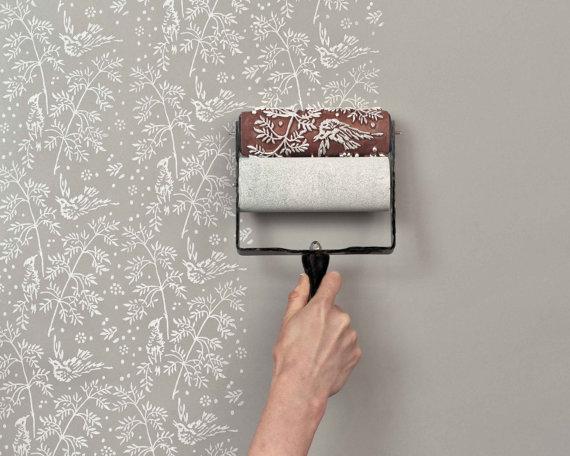 Quero quero quero: Papel de parede falso