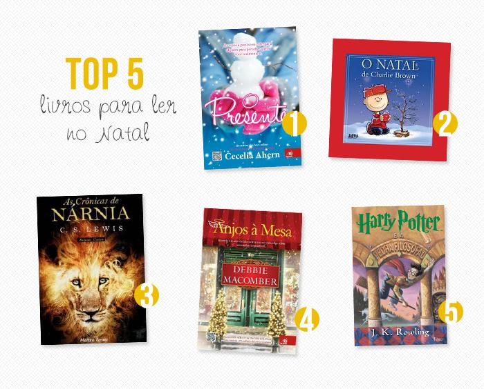 TOP 5: Livros para ler no Natal