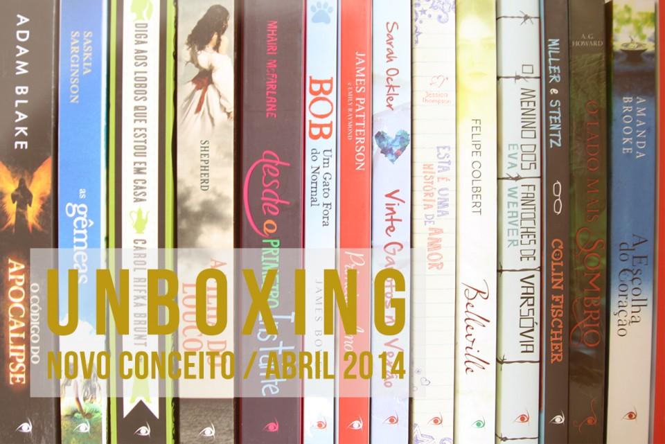 Unboxing: Novo Conceito Abril 2014