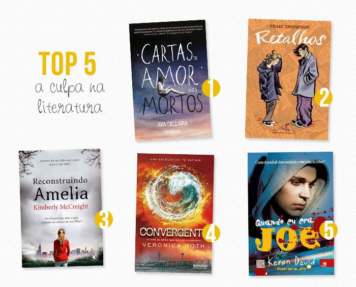 TOP 5: A culpa na literatura