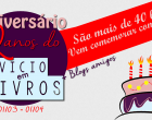 Sorteio: Aniversário Vício em Livros