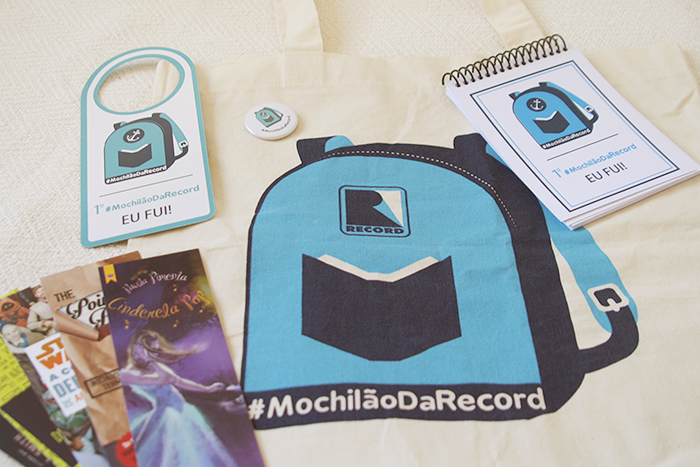 Evento: #MochilãodaRecord
