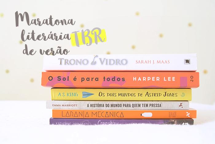 Maratona Literária de Verão: TBR 2017